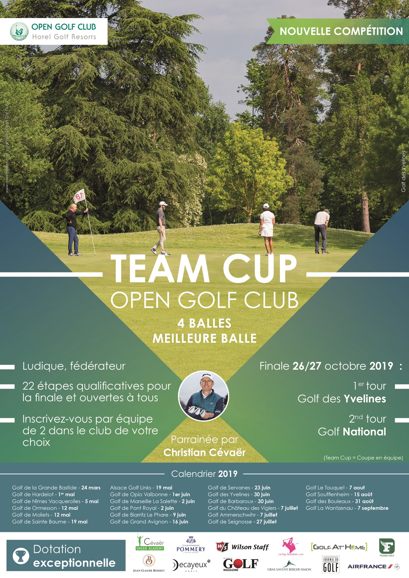 TEAM CUP BY OPEN GOLF CLUB